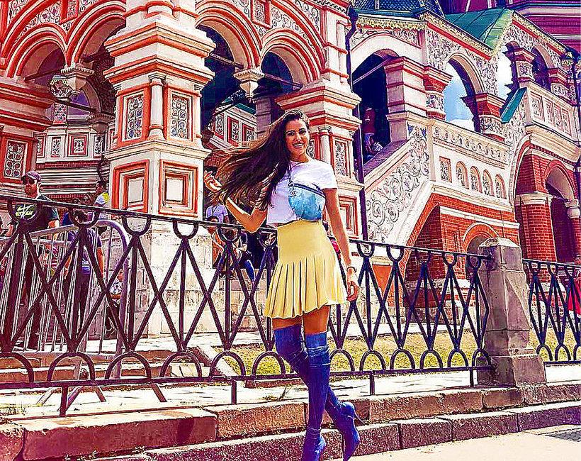 Celia Jauant w Rosji