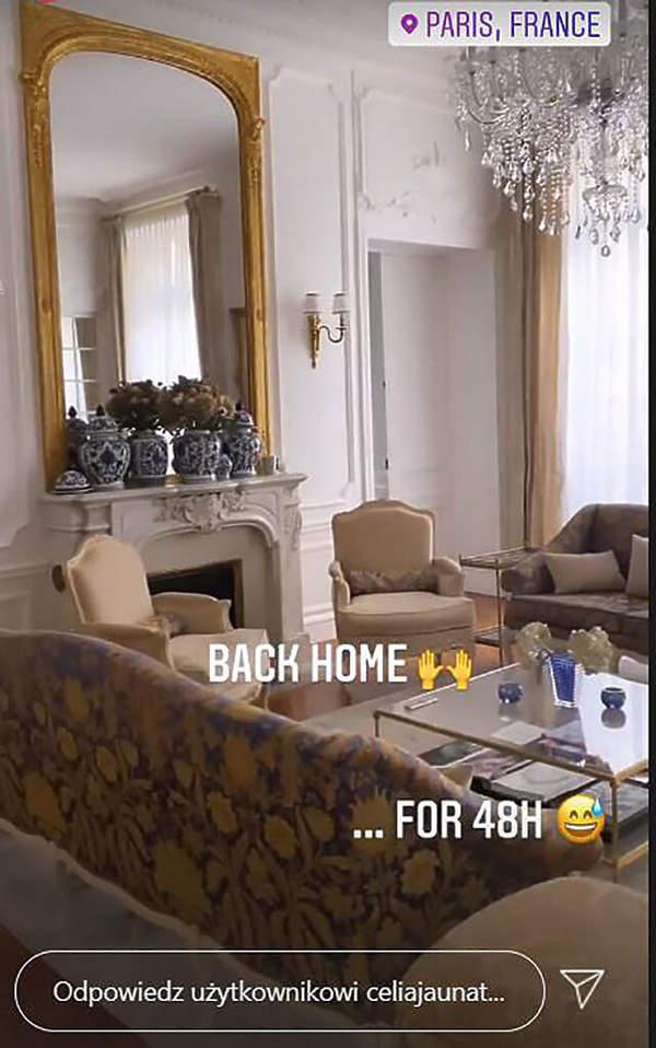 Celia Krychowiak pokazala wnetrza mieszkania
