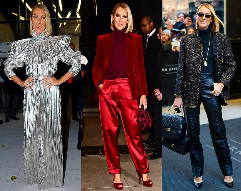 Celine Dion stylizacje