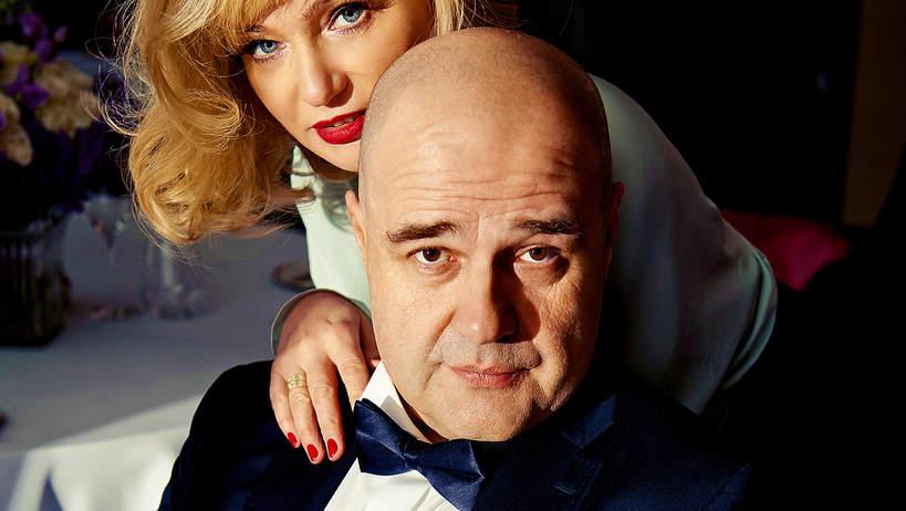 Cezary Żak z żoną, VIVA! maj 2016