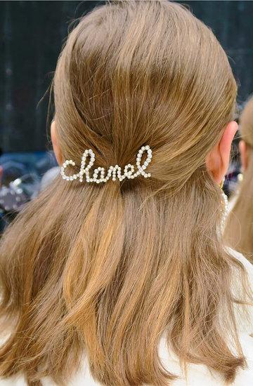 Chanel fryzury jesień/zima 2019