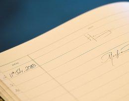Charakter pisma księżnej Meghan i księcia Harry'ego