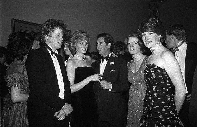 Charles Spencer, Diana, książę Karol, Jane Spencer, Sarah Spencer