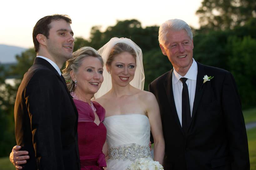 Chelsea Clinton, Hillary Clinton, Bill Clinton, Marc Mezvinsky
