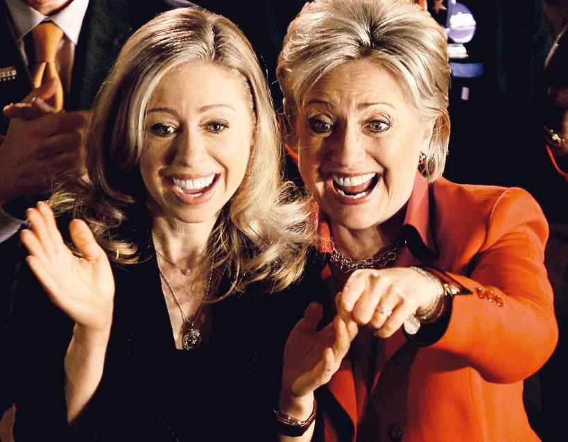 Chelsea Clinton, rodzina Clintonów
