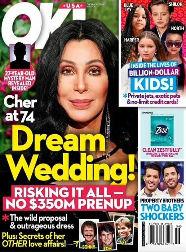 Cher bierze ślub w 2020