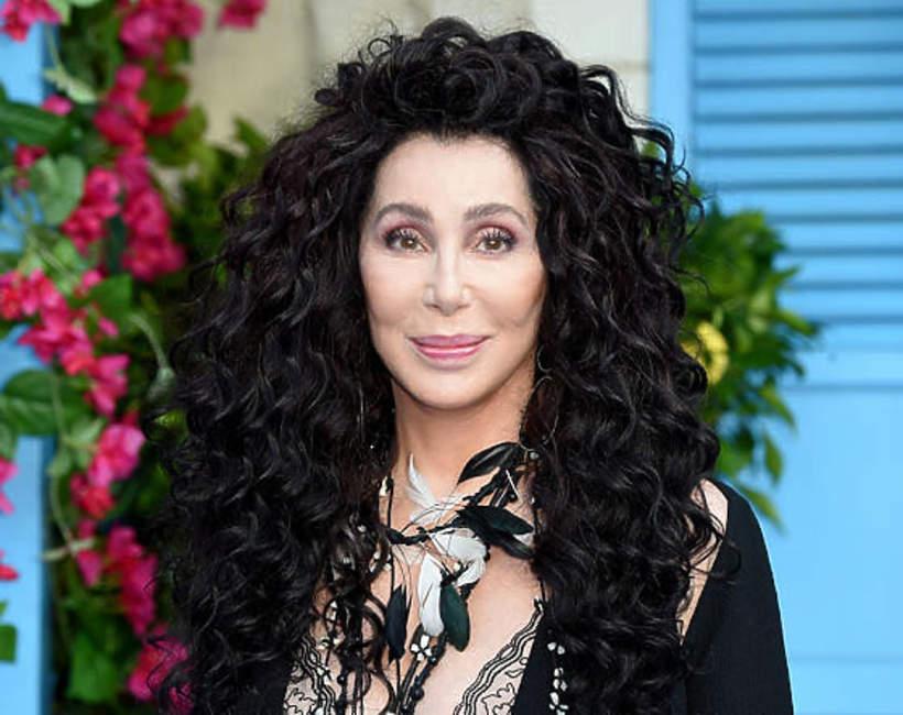 Cher na wakacjach Portofino