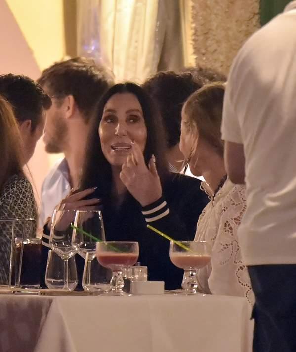 Cher w Portofino