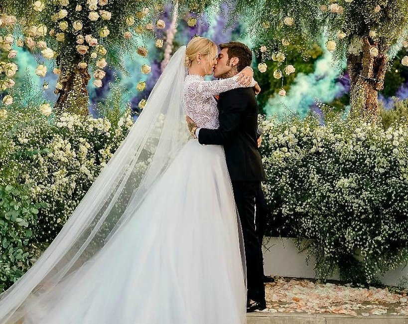 Chiara Ferragni i Fedez ślub