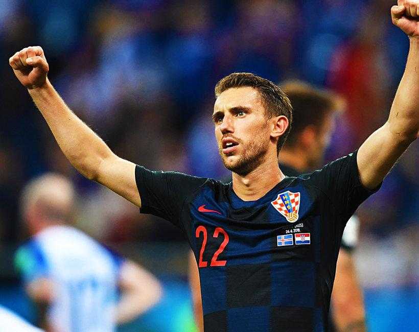 Chorwacja przystojni piłkarze