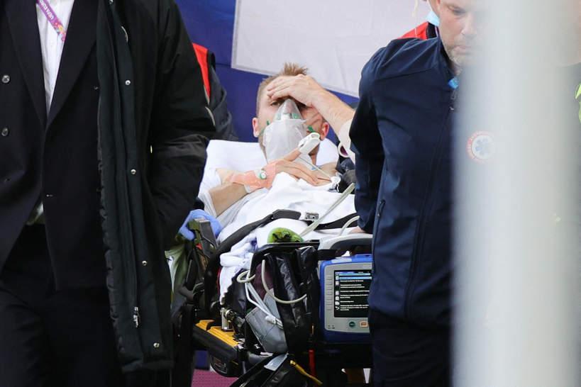 Christian Eriksen, zawał serca