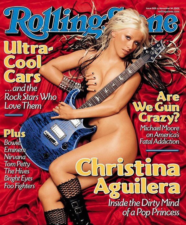 Christina Aguilera na okładce Rolling Stone