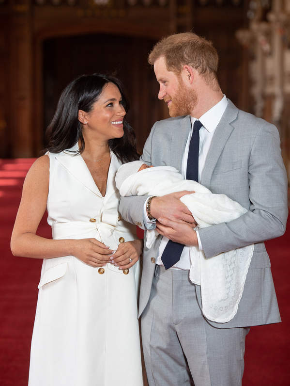 Chrzciny dziecka Meghan i Harry'ego - jak będą wyglądać?