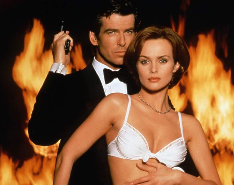 Co dziśw TV James Bond, Golden eye