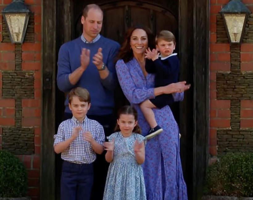 co jedzą dzieci Williama i Kate