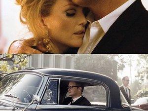 """Colin Firth i Julianne Moore w filmie """"Samotny mężczyzna"""""""