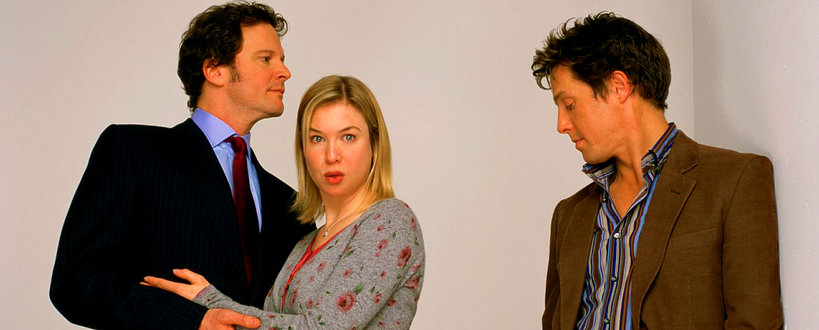 Colin Firth, Renee Zellweger, Hugh Grant, Bridget Jones