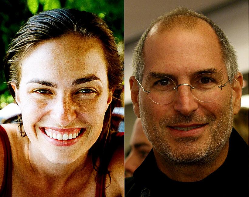 Córka Steve'a Jobsa, Steve Jobs