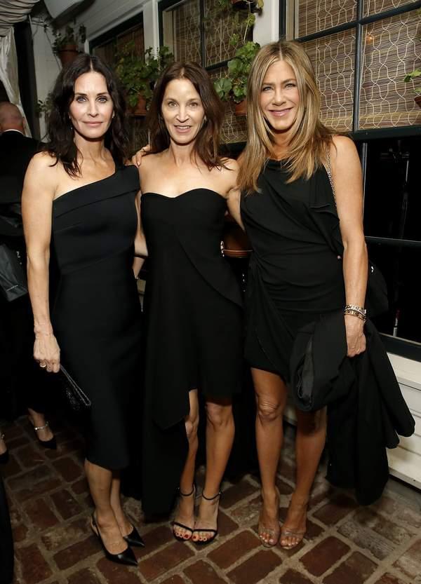 Courtney Cox, Amanda Anka, Jennifer Aniston, Netflix after party, Oscary 2020