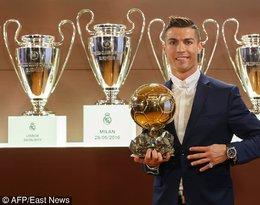 Cristiano Ronaldo dostał Złota piłkę