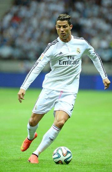 Cristiano Ronaldo na Stadionie Narodowym