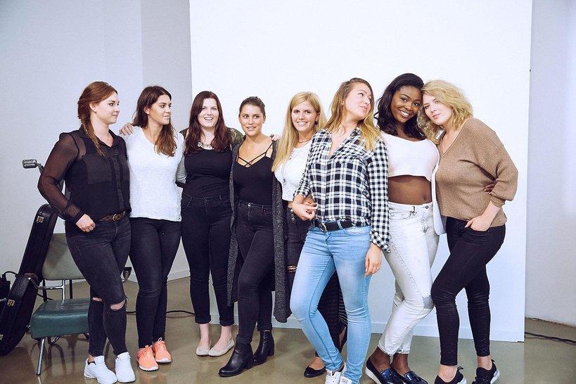 Curvy Supermodel uczestniczki niemieckiej edycji
