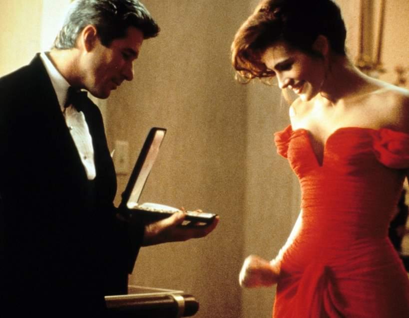 czerwona suknia z filmu Pretty Woman