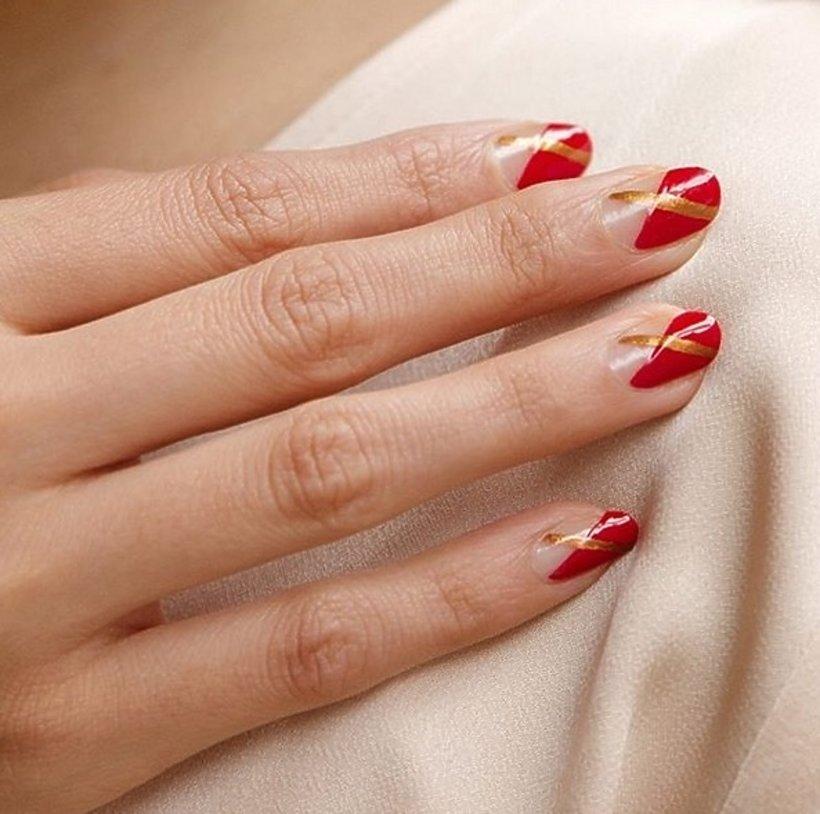 39878e271e Czerwony manicure  inspiracje