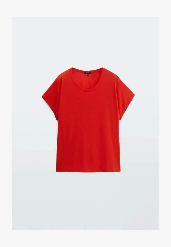 Czerwony t-shirt