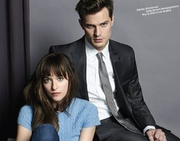 Dakota Johnson i Jamie Dornan 50 twarzy Greya