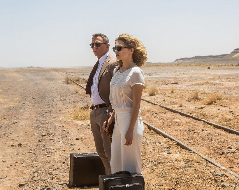 Daniel Craig i Léa Seydoux w