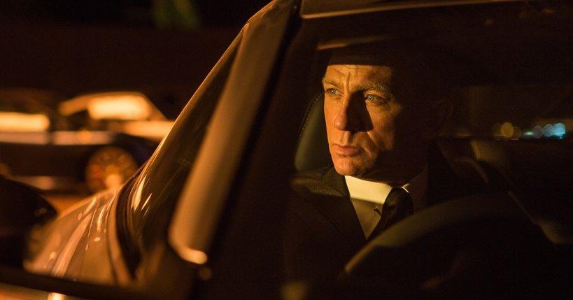 "Daniel Craig jako Bond w ""Spectre"""