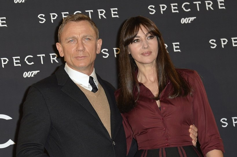 Daniel Craig, Monica Bellucci, James Bond