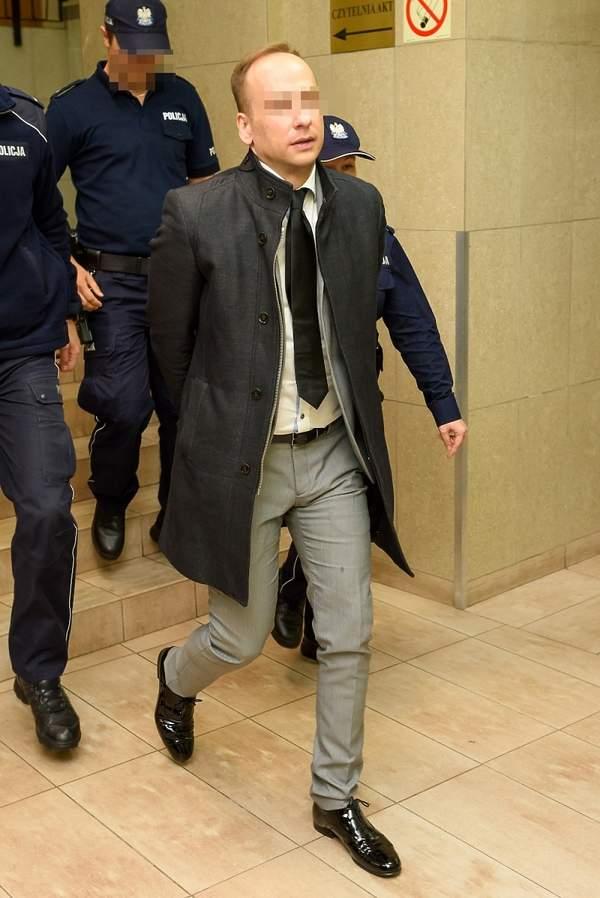 Dariusz Krupa w sądzie