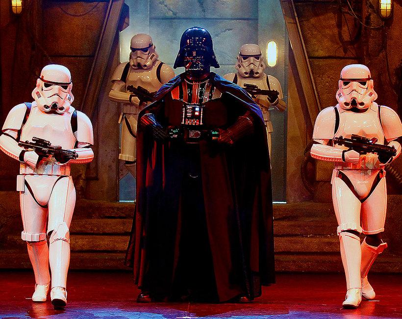 Darth Vader, Gwiezdne wojny