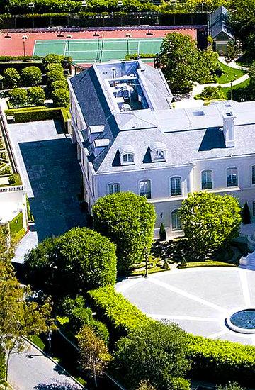David Beckham i Victoria Beckham dom