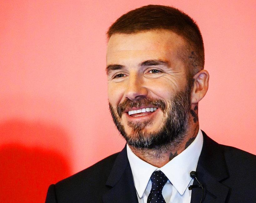 David Beckham nowa fryzura