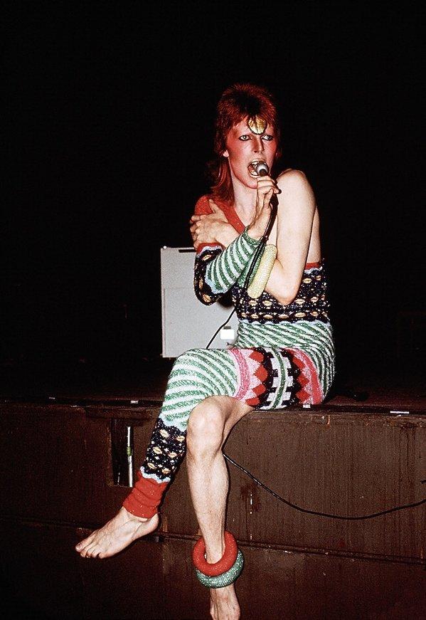 David Bowie w obiektywie Micka Rocka