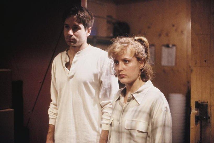 David Duchovny i Gillian Anderson