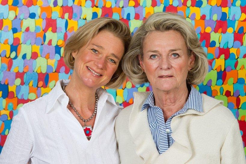 Delphine Boel i Sybilla de Selys Longchamps