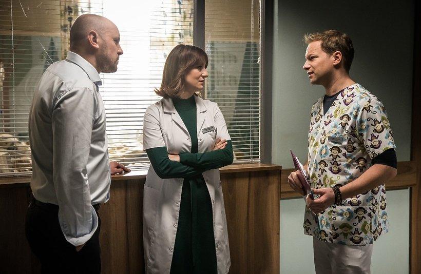 Diagnoza, czwarty sezon, Maja Ostaszewska, Maciej Stuhr, Adam Woronowicz