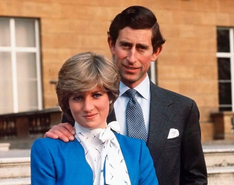 Diana Spencer i książę Karol zaręczyny