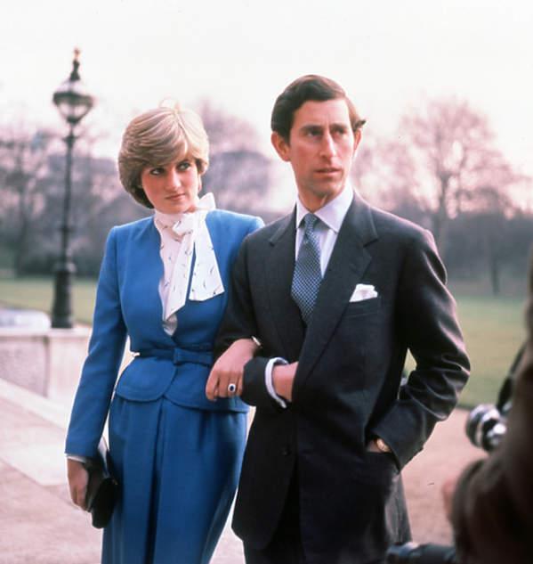 Diana spencer zaręczyny, książęKarol