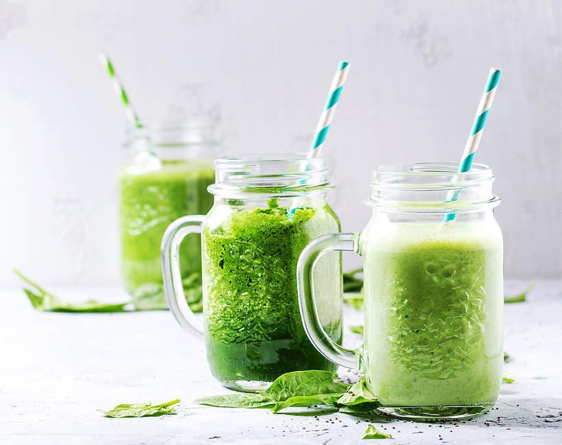 Dieta SIRT, zielone koktajle