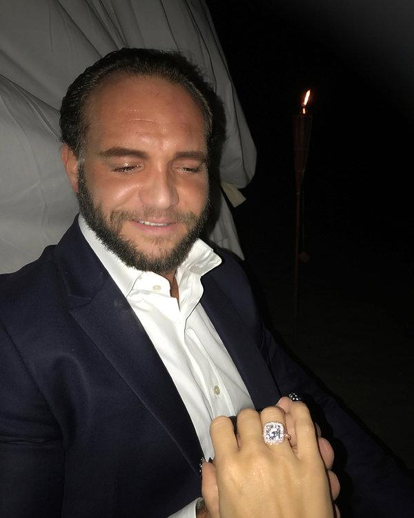 Doda pierścionek zaręczynowy, zaręczyny Dody