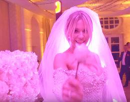 Doda, suknia ślubna Dody