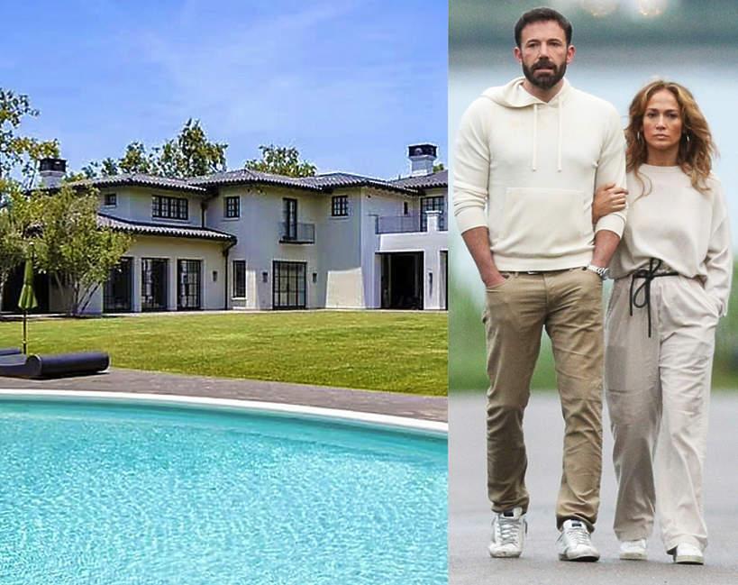 Dom J.Lo i Bena Afflecka