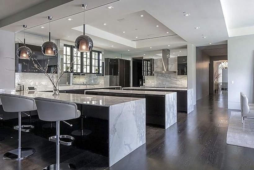 Dom J.Lo i Bena Afflecka kuchnia