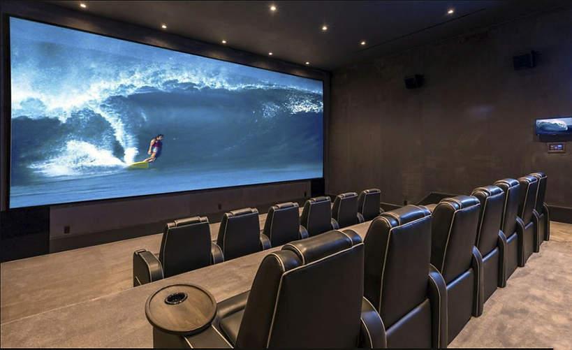 Dom J.Lo i Bena Afflecka prywatne kino