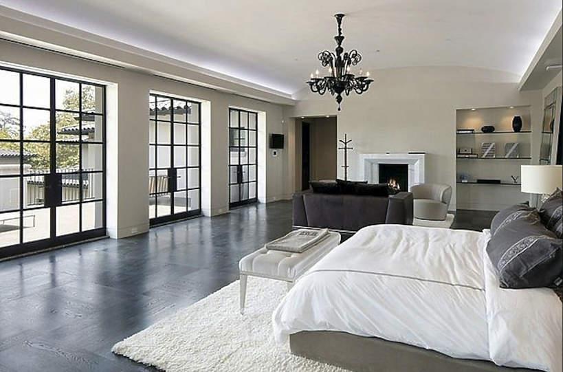 Dom J.Lo i Bena Afflecka sypialnia